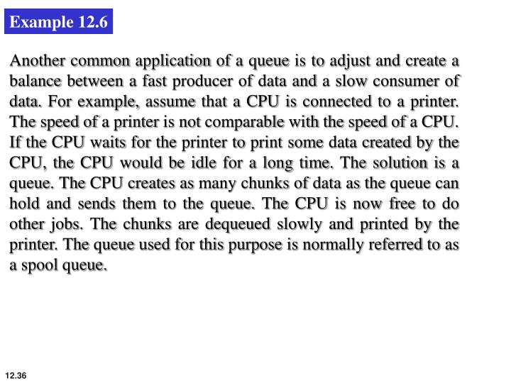 Example 12.6