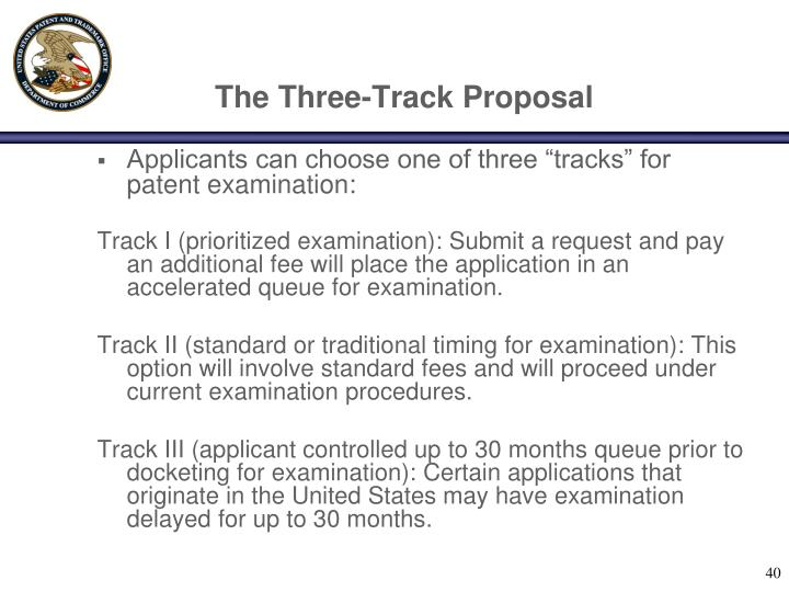 The Three-Track Proposal