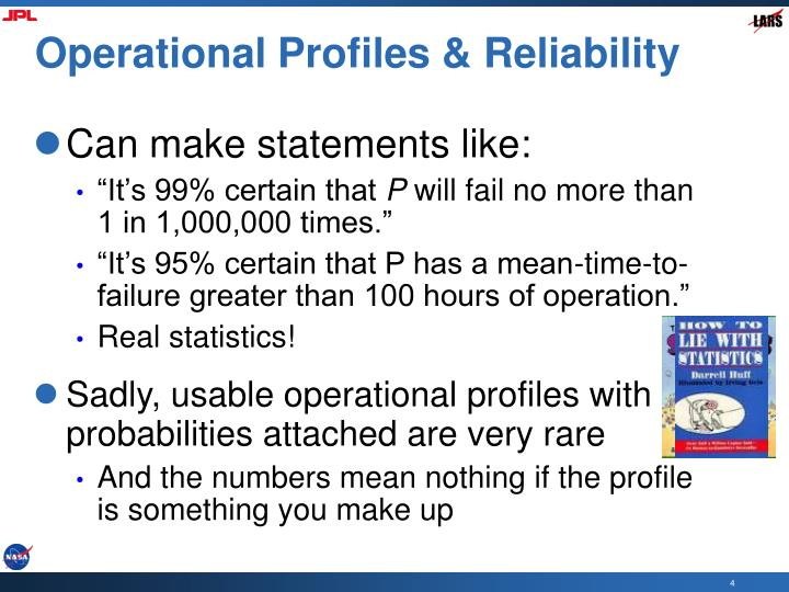Operational Profiles & Reliability