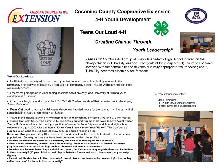 Coconino County Cooperative Extension