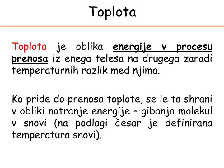 Toplota