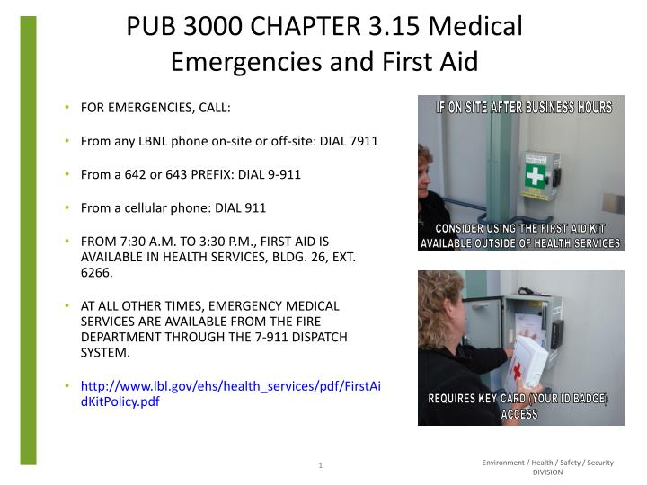 pub 3000 chapter 3 15 medical emergencies and first aid n.