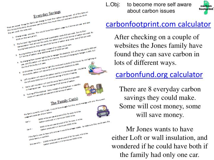 carbonfootprint.com calculator
