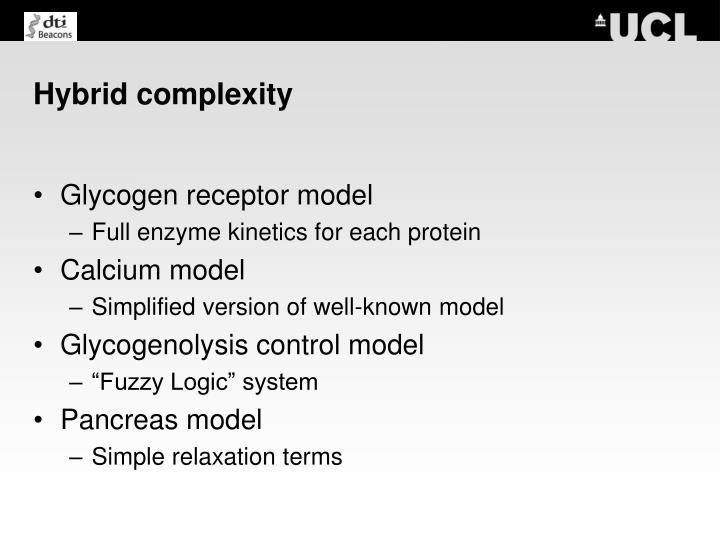 Hybrid complexity
