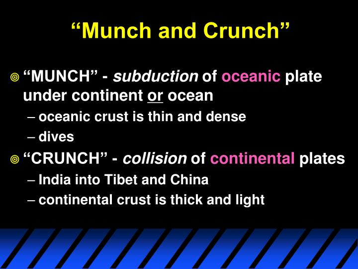 """Munch and Crunch"""