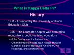 what is kappa delta pi