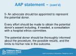 aap statement cont d1