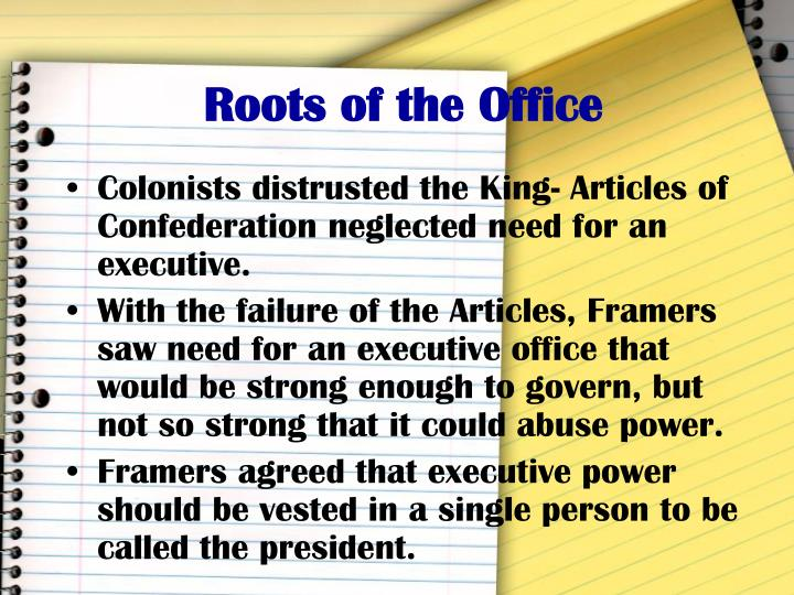 Roots of the Office