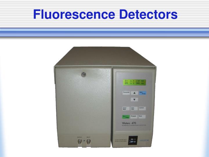 Fluorescence Detectors
