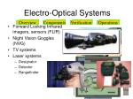 electro optical systems