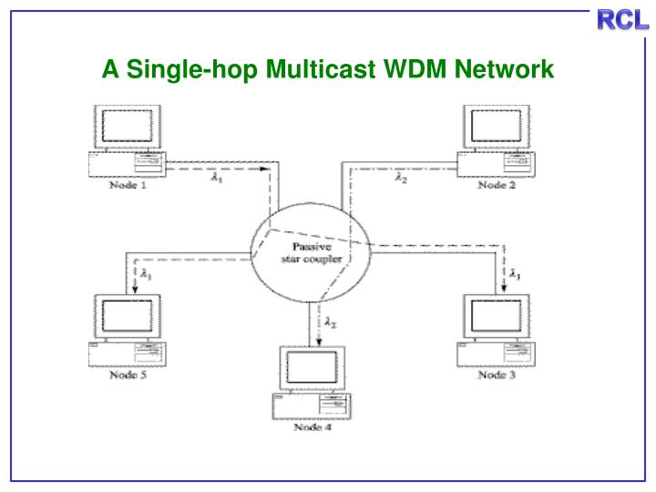 A Single-hop Multicast WDM Network