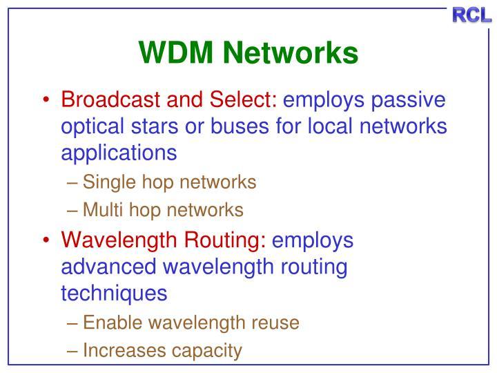 WDM Networks