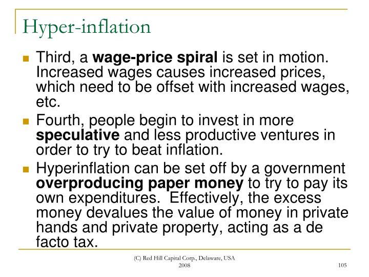 Hyper-inflation