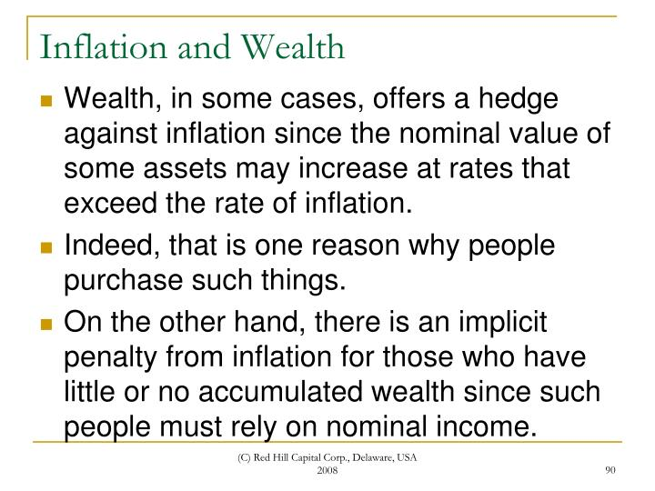 Inflation and Wealth