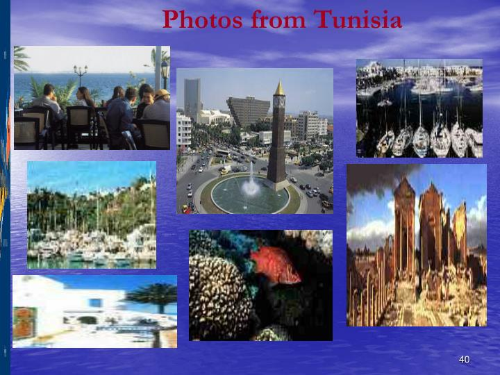 Photos from Tunisia