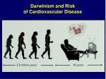 darwinism and risk of cardiovascular disease