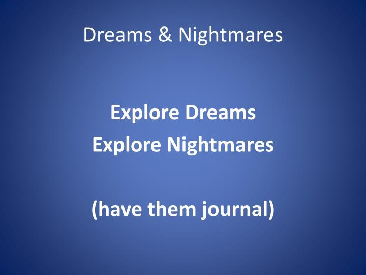 Dreams & Nightmares