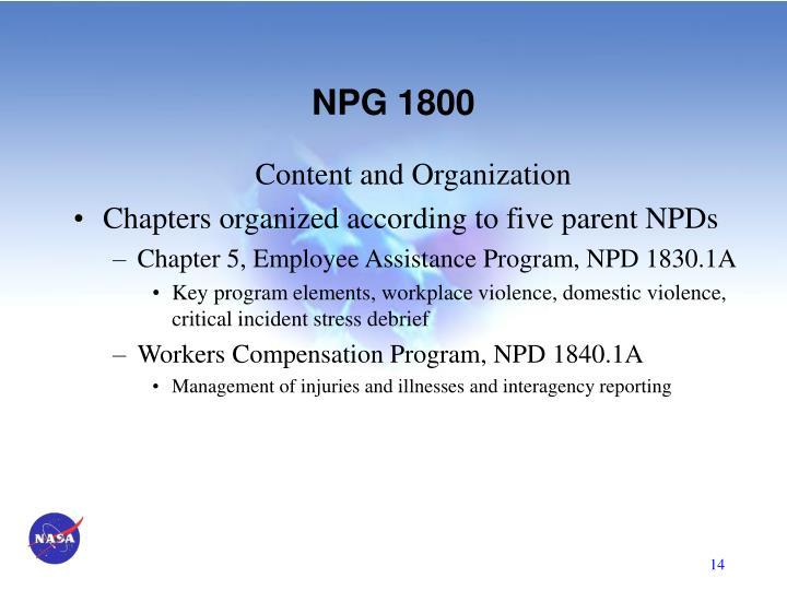NPG 1800