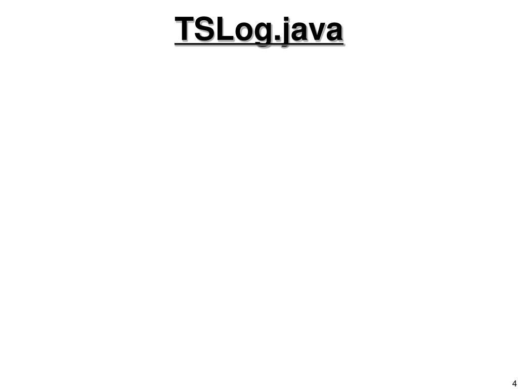 TSLog.java