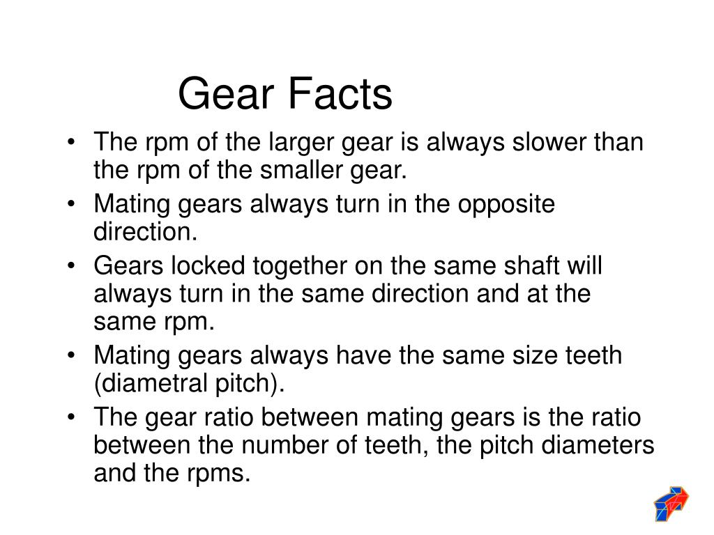 Gear Facts