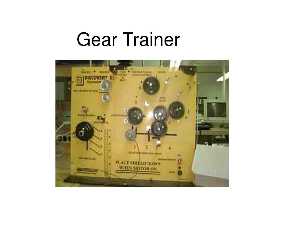 Gear Trainer