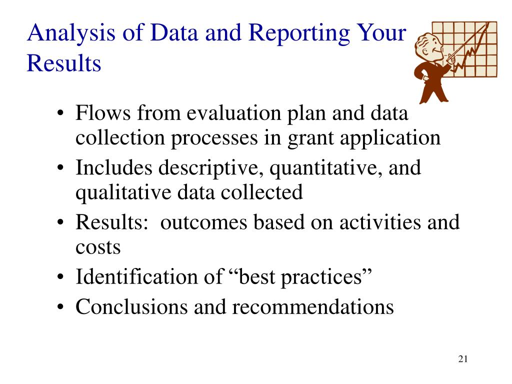 Analysis of Data and Reporting Your Results