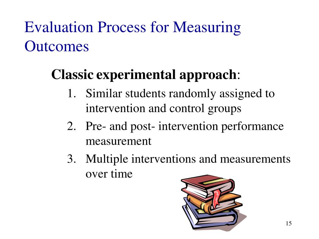Evaluation Process for Measuring Outcomes