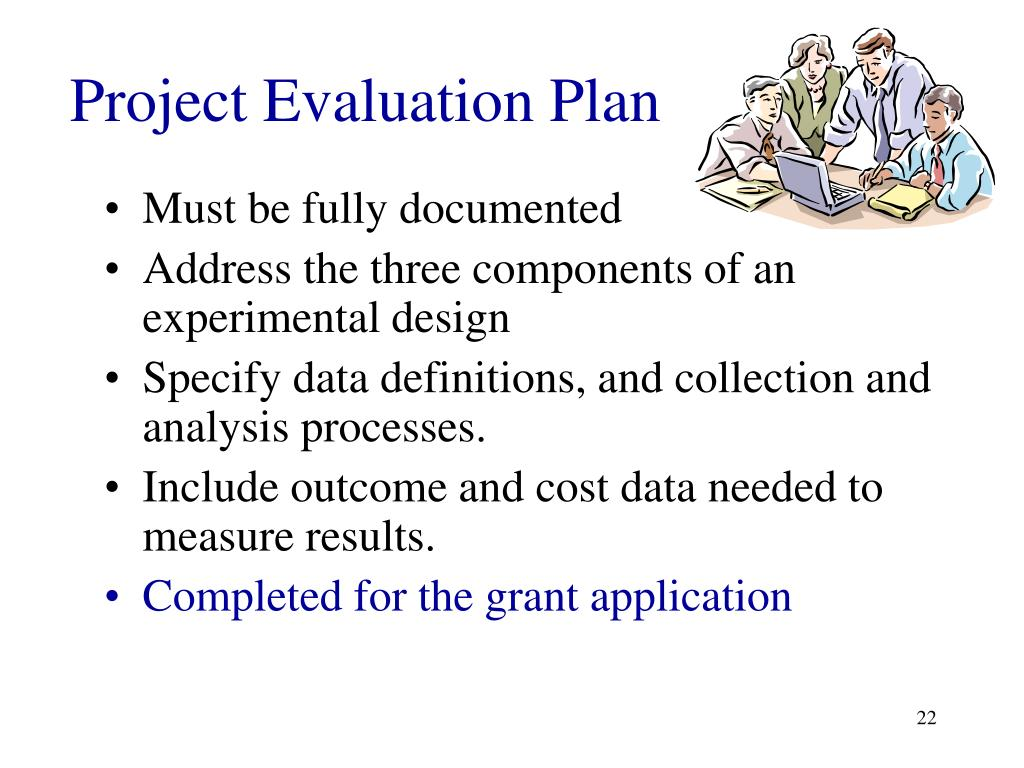 Project Evaluation Plan
