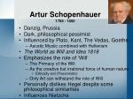 artur schopenhauer 1788 1860