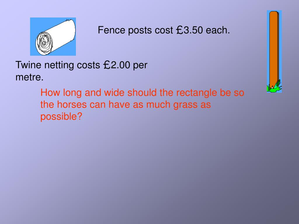 Fence posts cost