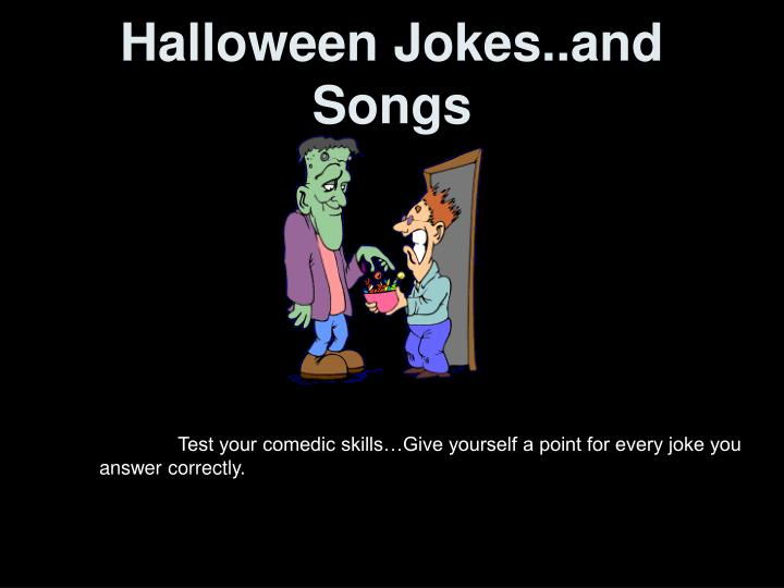 halloween jokes and songs n.