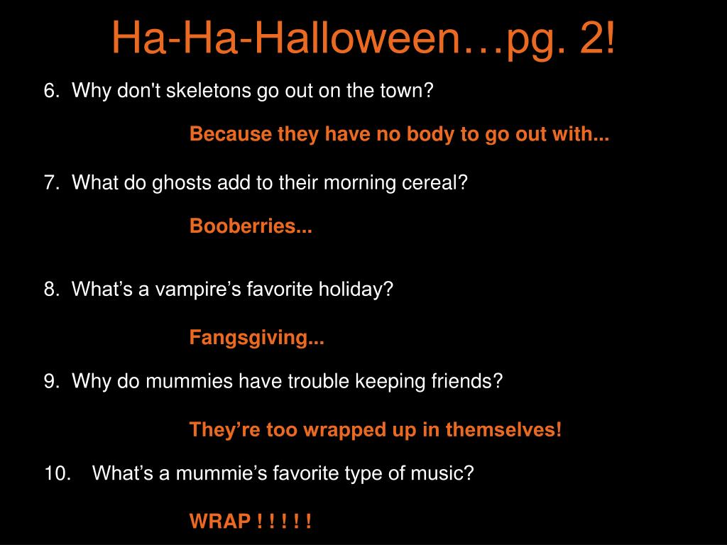 Ha-Ha-Halloween…pg. 2!