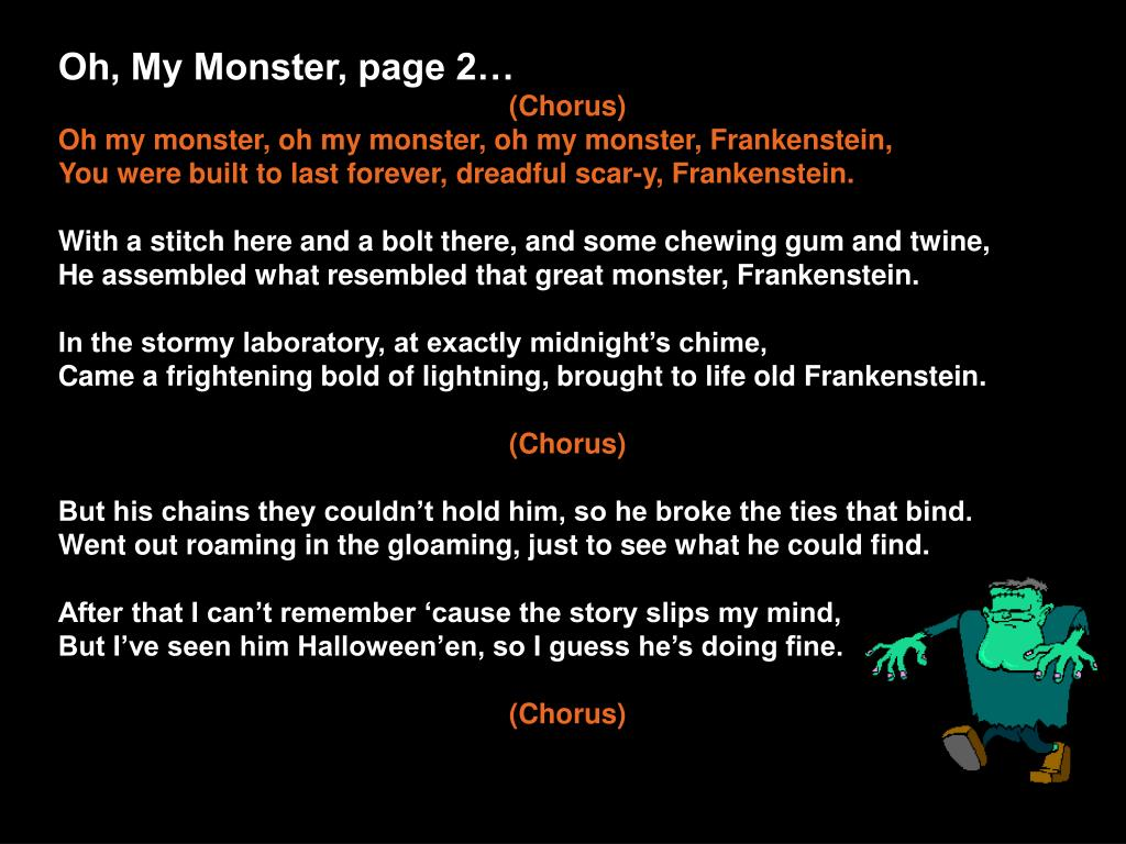 Oh, My Monster, page 2…