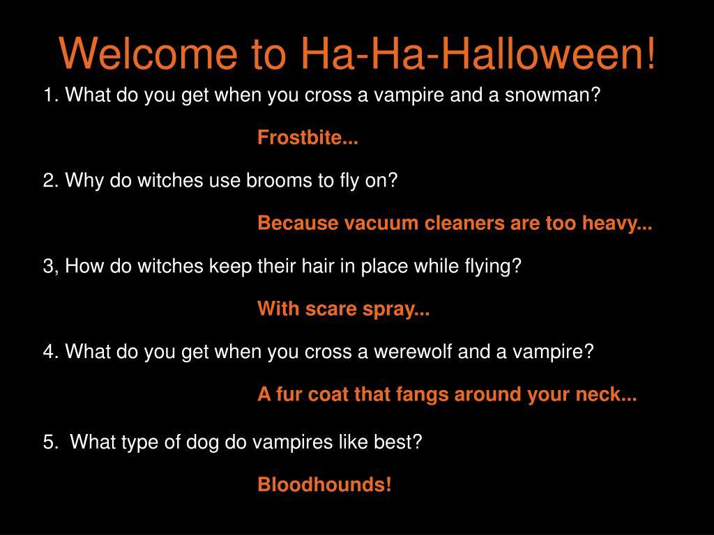 Welcome to Ha-Ha-Halloween!