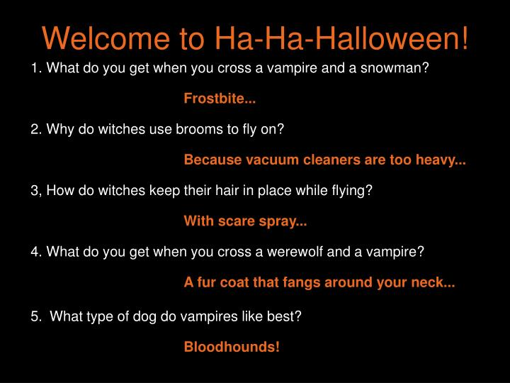 Welcome to ha ha halloween
