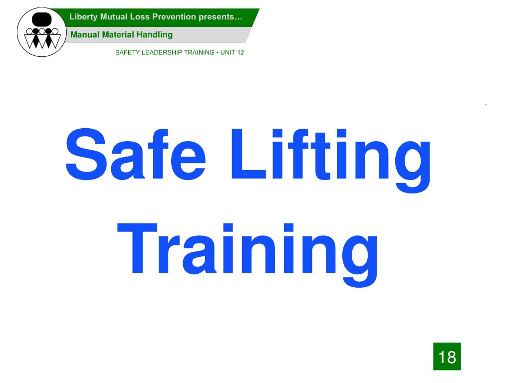 Safe Lifting Training