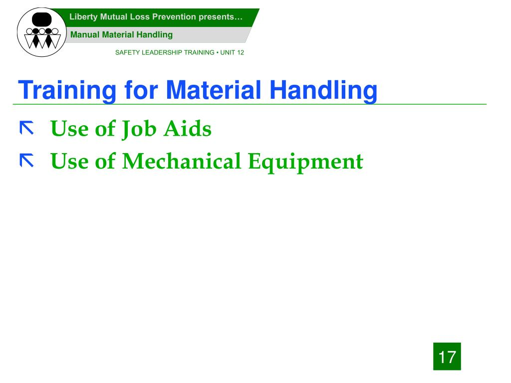 Training for Material Handling