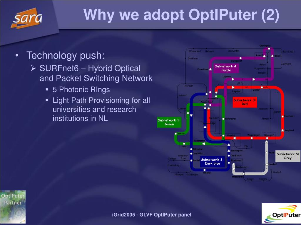Why we adopt OptIPuter (2)
