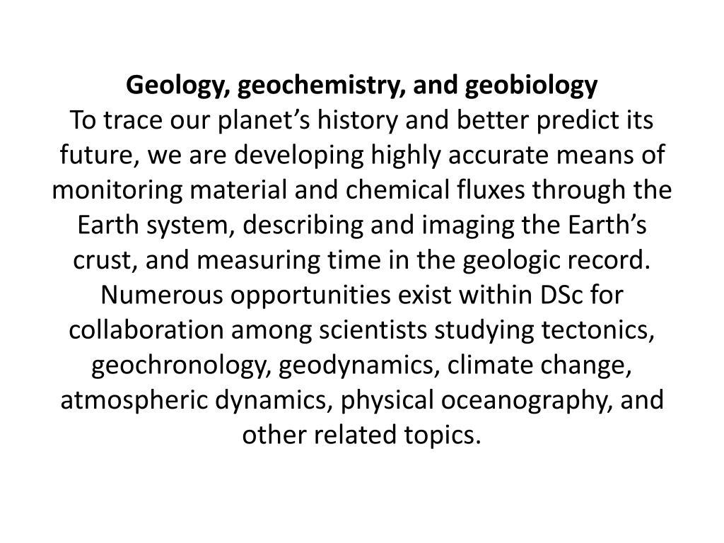 Geology, geochemistry, and