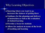 why learning objectives31
