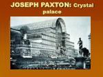 joseph paxton crystal palace