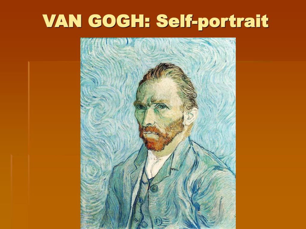 VAN GOGH: Self-portrait