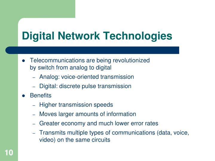 Digital Network Technologies