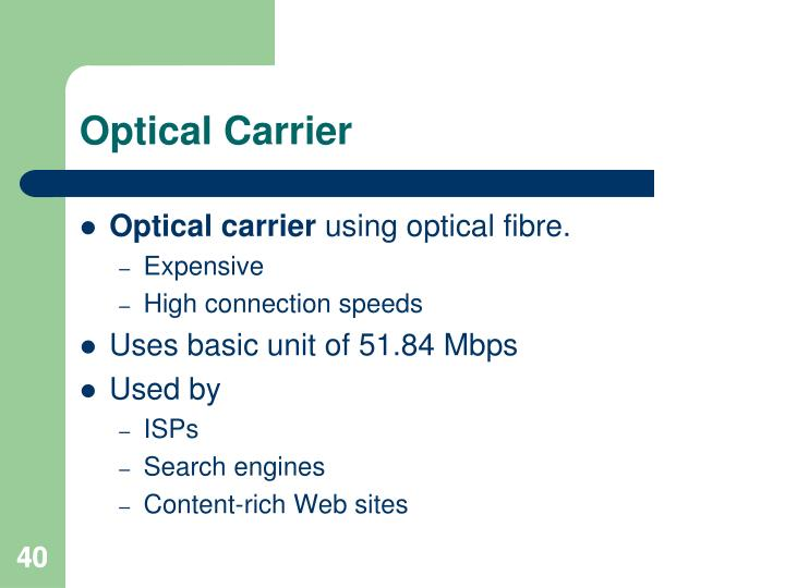 Optical Carrier