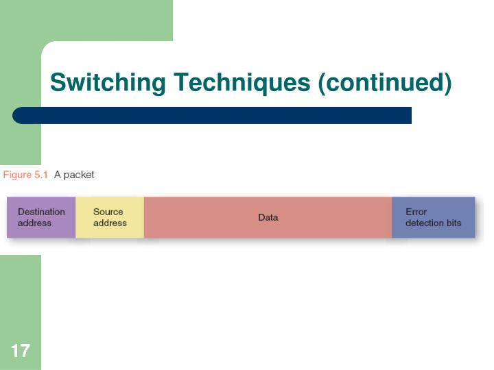 Switching Techniques (continued)