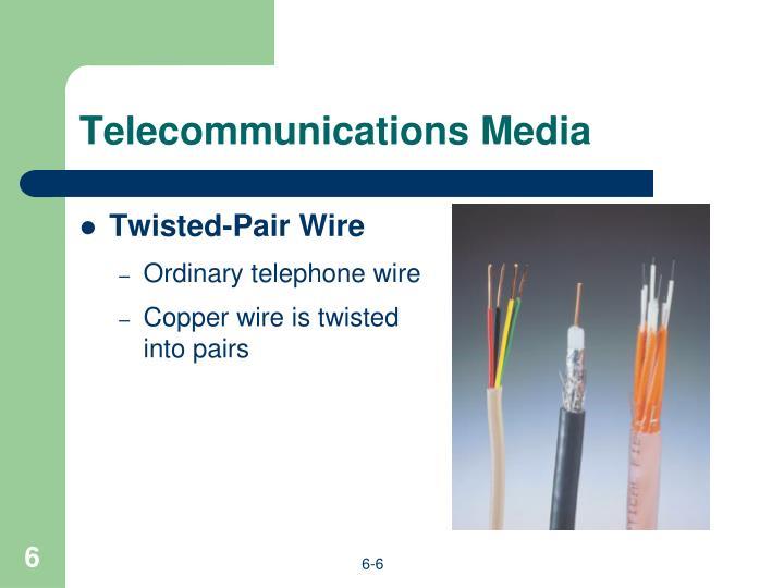 Telecommunications Media