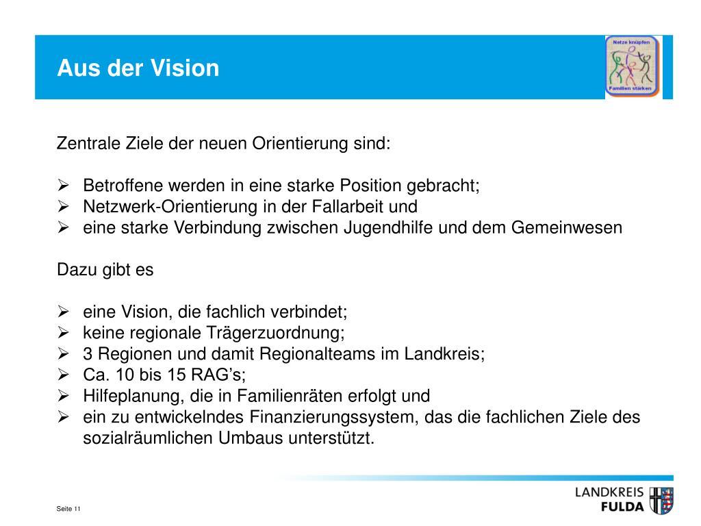 Aus der Vision