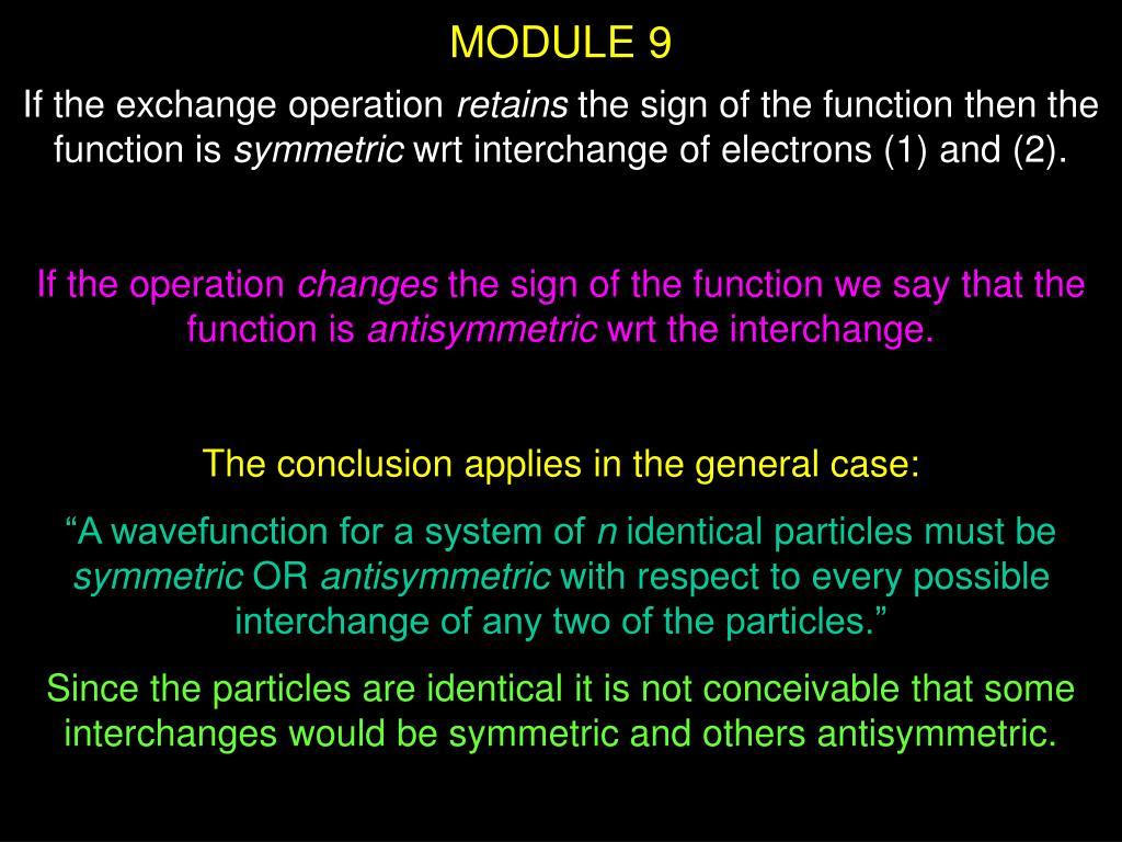 MODULE 9