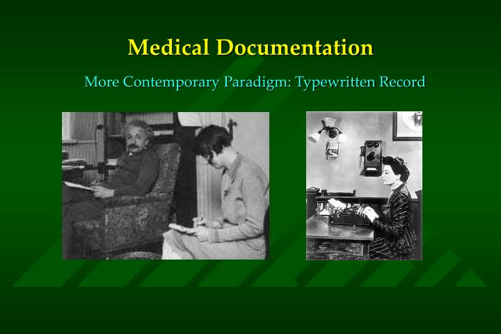 Medical documentation3