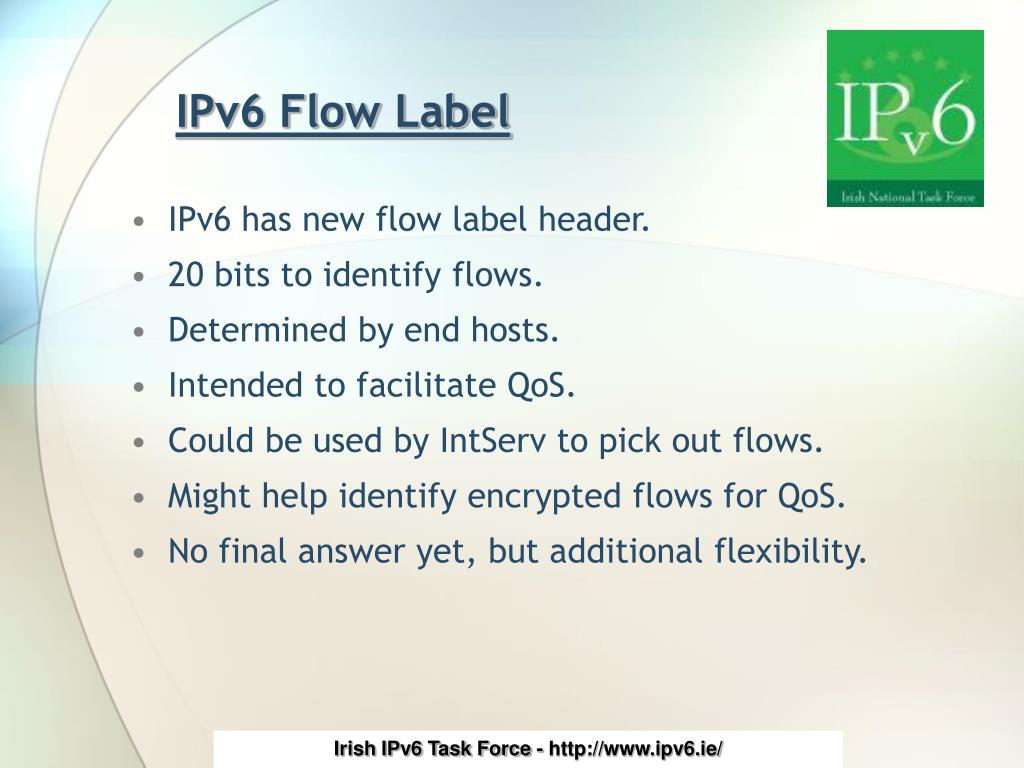 IPv6 Flow Label